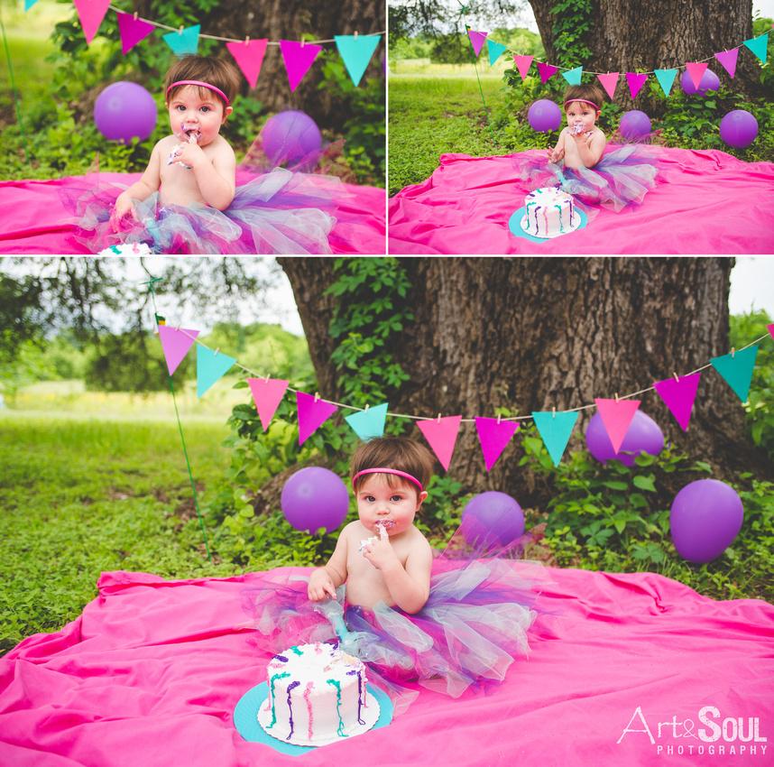 Art & Soul Photography Smash The Cake